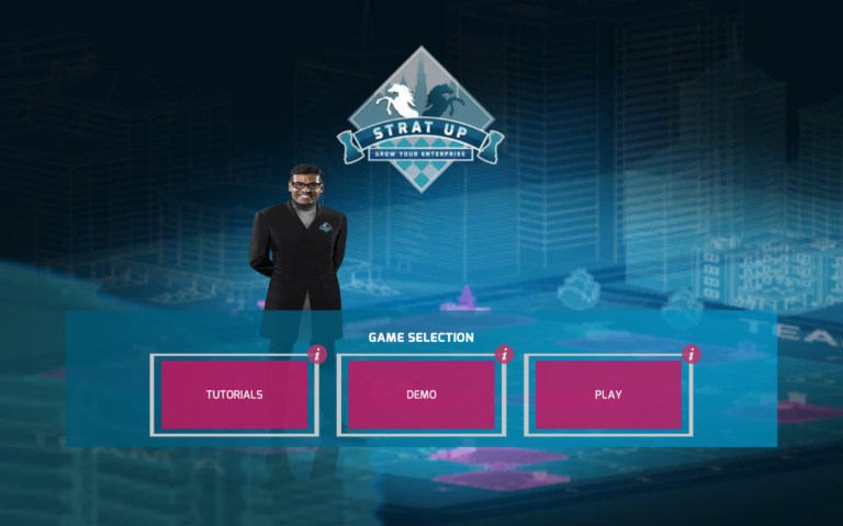 Demo - of StratUp - an Experiential Business Simulation Game
